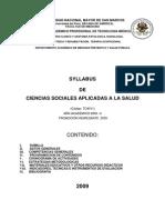 To4011 - Ciencias Aplicadas a La Salud