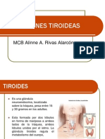 DISFUNCIONES TIROIDEAS