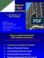 Design of Seismic Resistant Steel Building Structures 107p