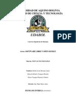 Informe Open Source y Software Libre