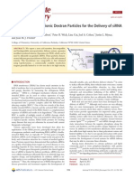 Acid-Degradable Cationic Dextran Particles for the Delivery of SiRNA DEXTRANA E ESPERMINA