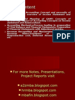 Finance Notes Ppt