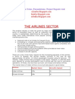 Project Report on Airlines