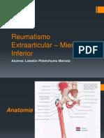 Reumatismo Extraarticular – Miembro Inferior