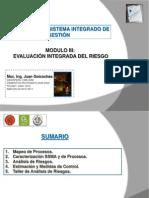 Evaluación Integrada del Riesgo 19 Nov 2011