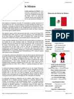 Selección de fútbol de México - Wikipedia, la enciclopedia libre