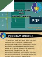 Program Linier Dan Metode Simplex