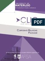 Corporate Sponsorship Package