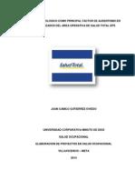 Proyecto Riesgo Biologico Electiva VI
