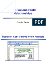 Cost-volume profit analysis