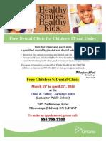 free childrens dental clinic-lancaster2014 public1