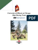 University of Illinois at Chicago SAE Proposal 2007