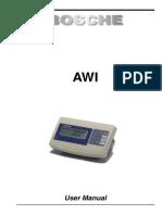 BOSCHE - AWI-ASP-User Manual En