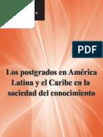 Libro - Los postgrados de América Latina en la sociedad del conocimiento