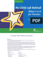 A Guide for Parent Lea Ders and Advo c Ates