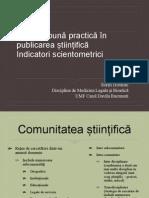 Ghid de Buna Practica in Publicare 2014