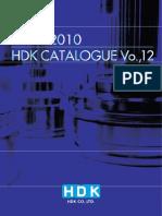 2009-2010 HDK CATALOGUE Vol.12 - копия