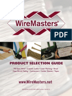 Wiremasters Product Selection Guide