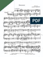 George Gershwin - Swanee Voice & piano