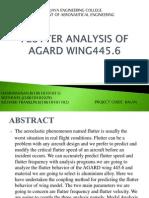 Wing Flutter Analysis2