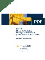 Horvath-HTL_Plan-Mkt-Strategic-Operaţional-Romania-2011_2015