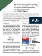 Jurnal Surface Plasmon Resonance