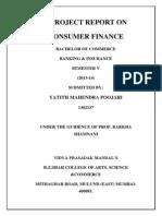 consumer finance..yatith poojari(Yp)