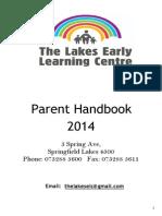 parent handbook - tlelc  2014
