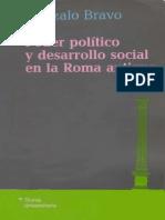 Bravo Gonzalo - Poder Politico Y Desarrollo Social en La Antigua Roma (Scan)