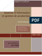 Si & Gestion de Production