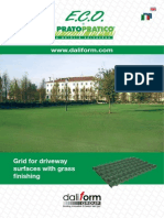 Eco by Pratopratico® - Grid for driveway surfaces with gravel