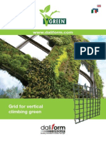 V-Green® Grid for vertical climbing green