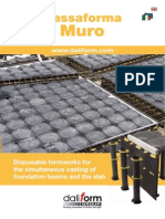 Muro -  for the simultaneous casting of foundation beams and the slab