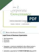 corporate goverance حوكمت الشركات