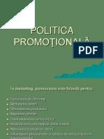 Capitolul 7 Politica Promotionala