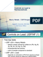 Lead control in products - BP Specs