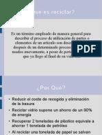 presentación básica reciclaje 3.2