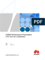 CDMA Performance Parameters (1X) V3.3 for Customers