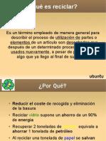 presentación básica reciclaje 3.3.1