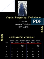 Capital Budgeting Techniques-2