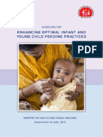 6. Operational Guide Enhancing Optimal Infant and Young Child Feeding Practices Through the Public Health System