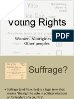 5  voting rights
