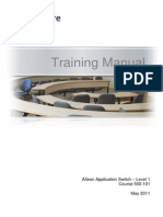 500-101_27.0_12_Alteon_Level1_TrainingManual