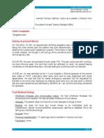 Case Report Mitral Valve Prolapse