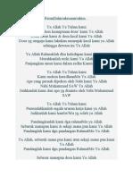 Doa Ustaz Dasuki