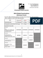 2014 Examination Entrance Form v5!1!10 Dec 13