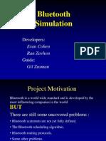 Bluetooth Simulation