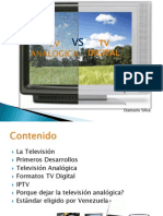 Tv Analoga vs Tv Digital