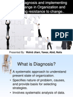 OD the Diagnostic Process by Wahid Jilani