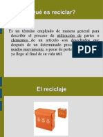 presentación básica reciclaje 6.3.3